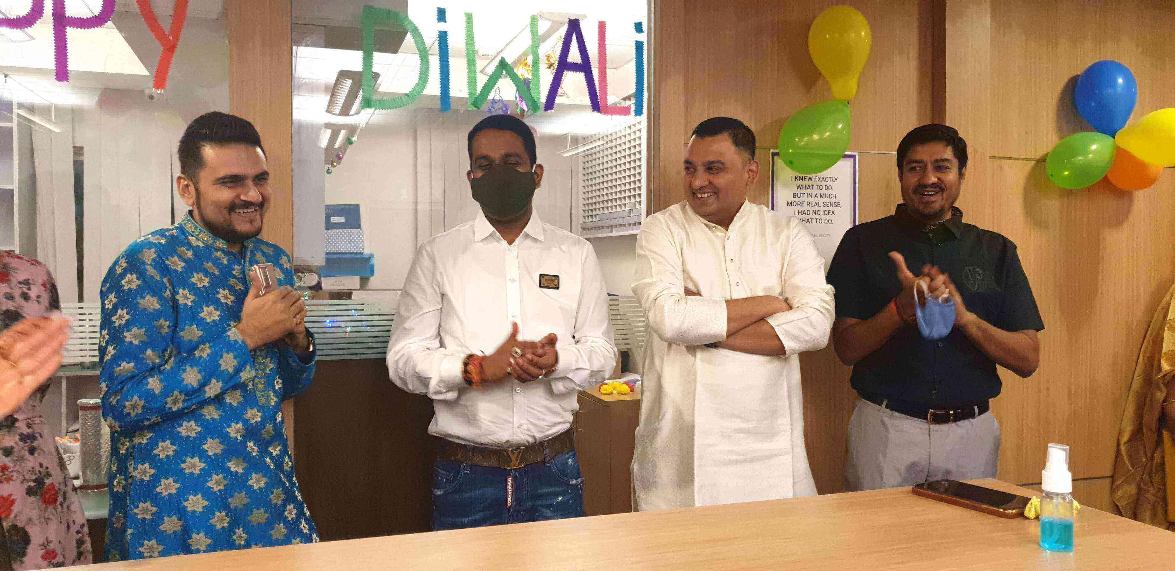 Diwali celebration at GenieTalk.ai